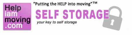 Self storage self store storing items to store